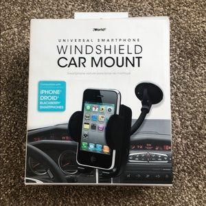 Universal Smartphone Windshield Car Mount